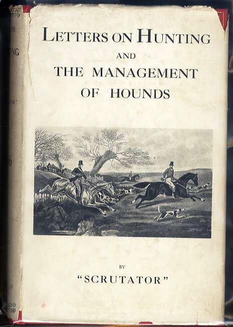 Image for LETTERS ON HUNTING AND THE MANAGEMENT OF HOUNDS