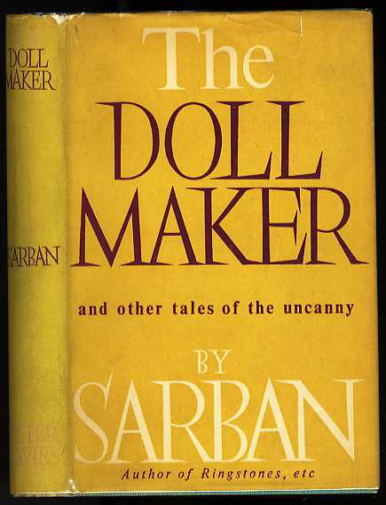 Image for THE DOLL MAKER AND OTHER TALES OF THE UNCANNY