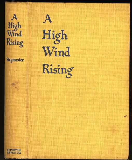 Image for A HIGH WIND RISING, A NOVEL.
