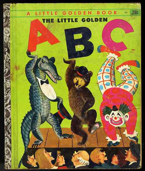 Image for THE LITTLE GOLDEN ABC , (DEFGHIJKLMNOPQRSTUVWXYZ)