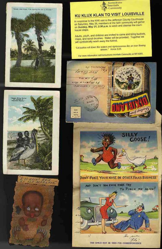 Image for LOT OF SIX interesting PIECES FEATURING NEGROES