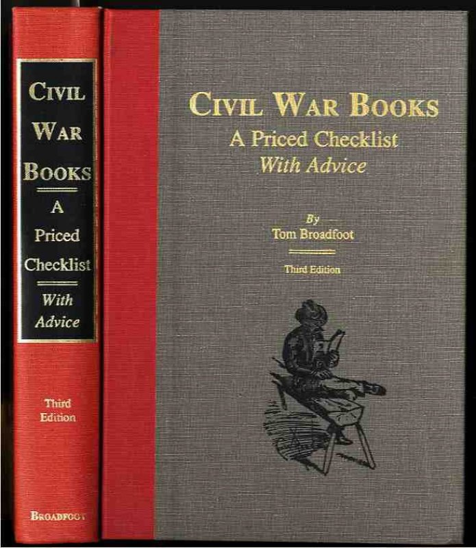 Image for CIVIL WAR BOOKS: A PRICED CHECKLIST WITH ADVICE.