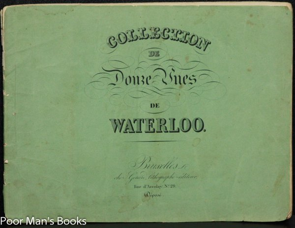Image for COLLECTION DE DOUZE VUES DE WATERLOO