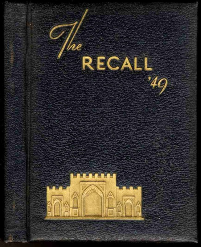 Image for THE RECALL YEARBOOK 1949 AUGUSTA MILITARY SCHOOL, VIRGINIA
