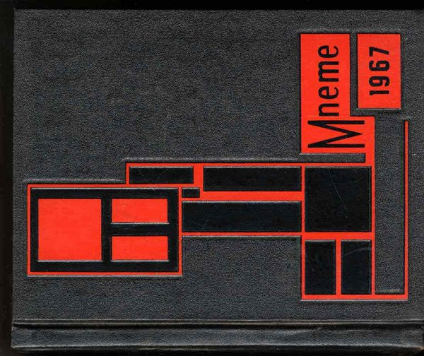 Image for MNEME 1967 YEARBOOK NEW JERSEY, RUTGERS UNIVERSITY COLLEGE OF SOUTH JERSEY