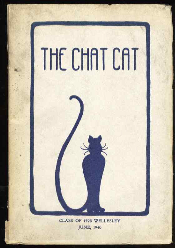 Image for THE CHAT CAT, CLASS OF 1925 WELLESLEY