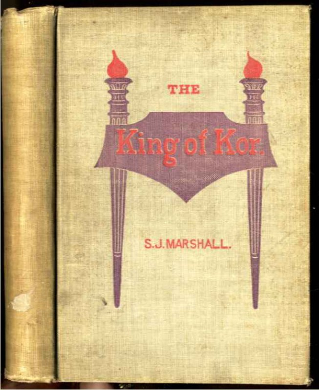"Image for THE KING OF KOR: OR, SHE'S PROMISE KEPT: A CONTINUATION OF THE GREAT STORY OF ""SHE,"" OF H. RIDER HAGGARD"