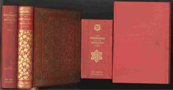 Image for THE MEDITERRANEAN AND ITS BORDERLANDS (COMPLETE IN 2 SLIPCASED VOLUMES)