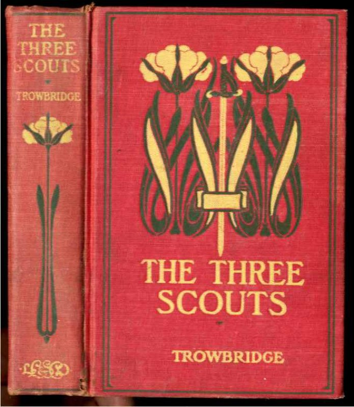 Image for THE THREE SCOUTS