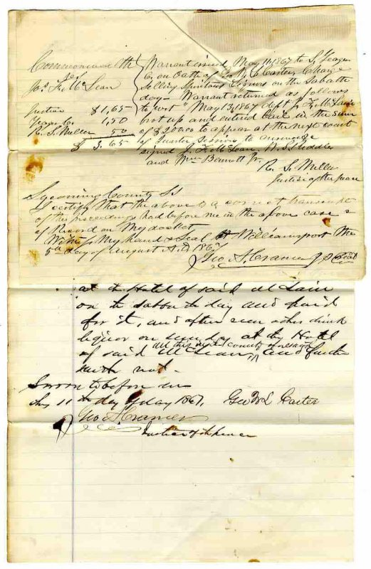 Image for EARLY COURT RECORDS FROM THE COMMONWEALTH OF PENNSYLVANIA FOR SELLING LIQUOR.