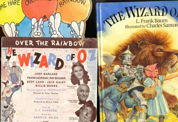Image for The Wizard of Oz along with original MGM movie sheet music [Lbc]