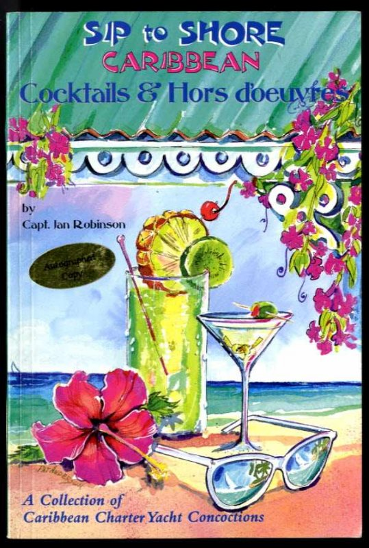 Image for SIP TO SHORE (SIGNED 1ST)  Cocktails and Hors D'Oeuvre
