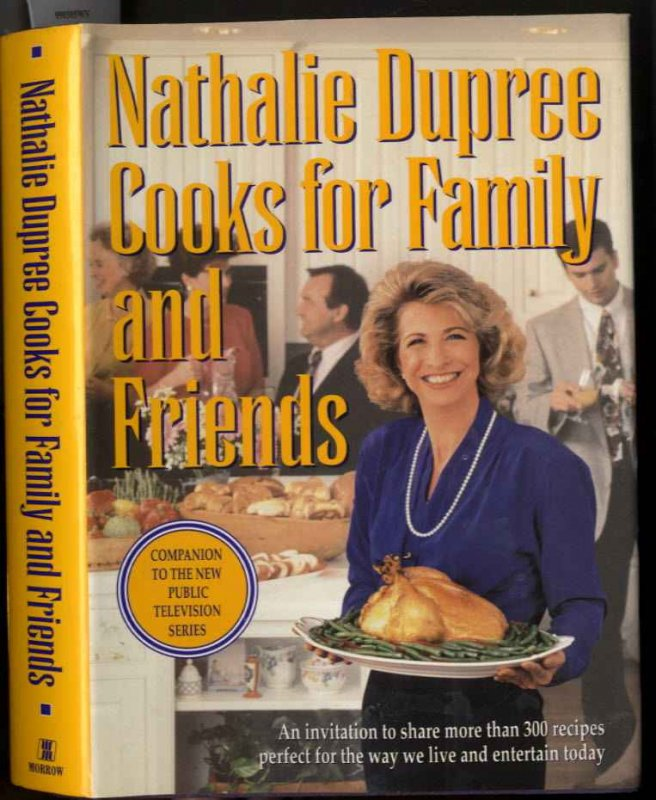 Image for NATHALIE DUPREE COOKS FOR FAMILY AND FRIENDS (SIGNED 1ST)