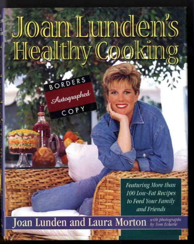 Image for JOAN LUNDEN'S HEALTHY COOKING (SIGNED 1ST)