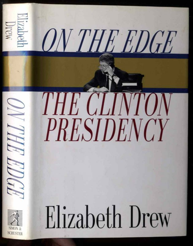 Image for On the Edge  The Clinton Presidency