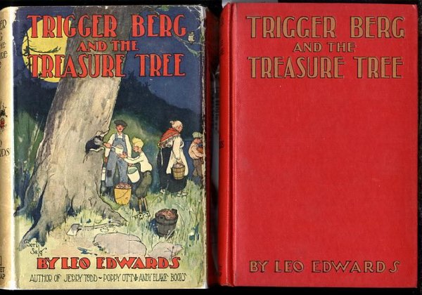 Image for TRIGGER BERG AND THE TREASURE TREE.
