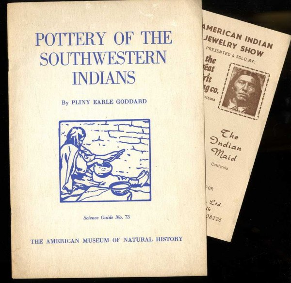 Image for POTTERY OF THE SOUTHWESTERN INDIANS
