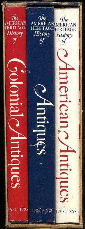 Image for THREE CENTURIES OF AMERICAN ANTIQUES: THREE VOLUME SET [COMPLETE IN SLIPCASE]