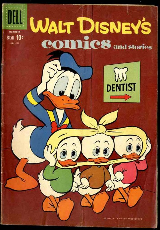 Image for WALT DISNEY'S COMICS AND STORIES VOL 21 NO 1 OCT 1960 10C