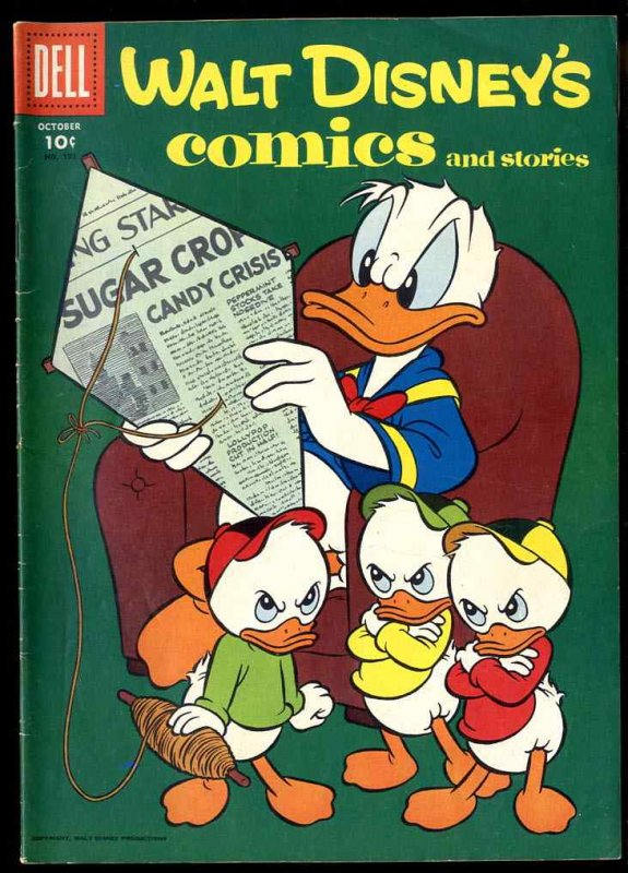 Image for WALT DISNEY'S COMICS AND STORIES VOL 17 NO 1, OCT 1956 10C [COMIC BOOK]