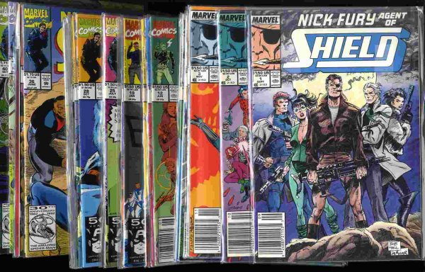 Image for NICK FURY, AGENT OF SHIELD, 3RD SERIES, [COMIC BOOKS] 35 ISSUES 1//46
