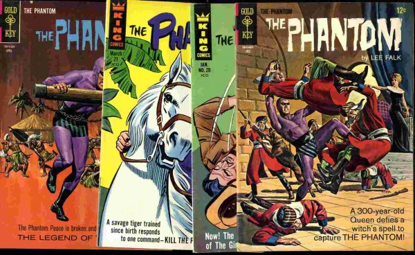 Image for THE PHANTOM 16, 17, 20, 21 4 ISSUES 1966-7 .12c