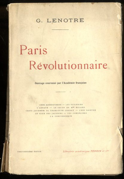 Image for PARIS RÉVOLUTIONNAIRE