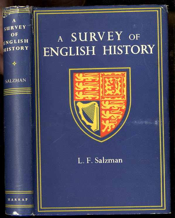 Image for A SURVEY OF ENGLISH HISTORY