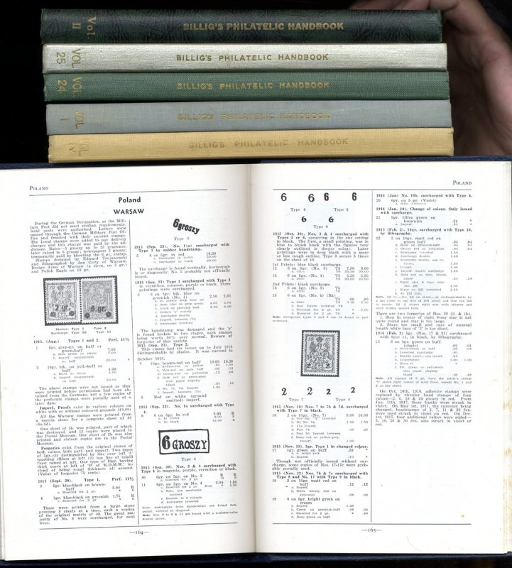 Image for FRITZ BILLIG'S PHILATELIC HANDBOOK, 33 VOLS COMPLETE #1-29 1942-1960 [G]