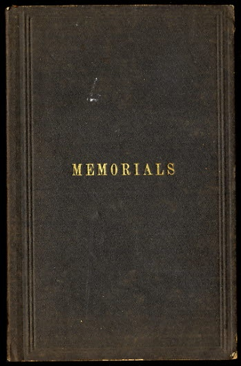 Image for MEMORIALS CONCERNING DECEASED FRIENDS: MEMBERS OF PHILADELPHIA YEARLY MEETING.