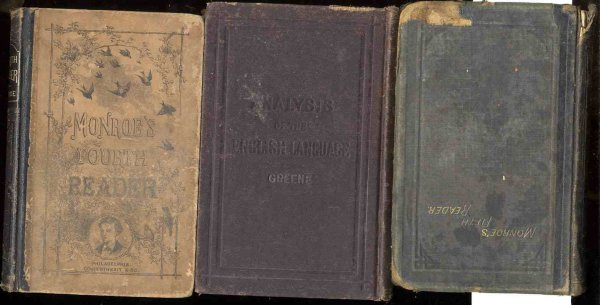 Image for 3 VOLUMES OF COWPERTHWAITE TEXT BOOKS FROM THE 1870'S