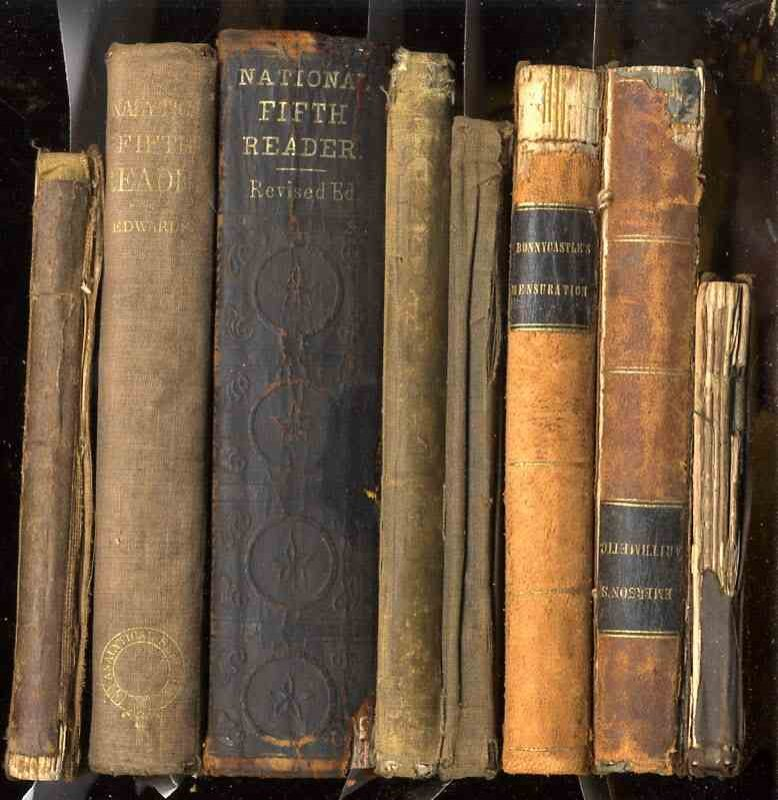 Image for 7 VOLUMES OF TEXT BOOKS FROM THE MID TO LATER 1800'S PUBLISHED BY BARNES, AMERICAN SCHOOL, BIGLOW, CLARK, MASON AND PRATT