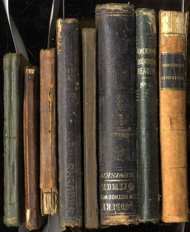 Image for 8 VOLUMES OF TEXT BOOKS FROM THE MID TO LATER 1800'S PUBLISHED BY IVISON, SHELDON AND HUNT