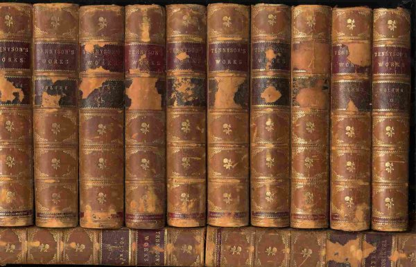 Image for THE WORKS OF ALFRED,LORD TENNYSON - POET LAUREATE [COMPLETE IN 12 DELUXE VOLUMES]