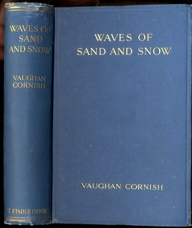 Image for WAVES OF SAND AND SNOW AND THE EDDIES WHICH MAKE THEM.