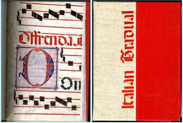Image for A MONOGRAPH ON THE ITALIAN CHOIR BOOK. [SIGNED] [Lbc]