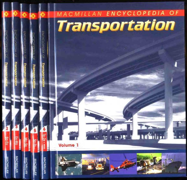 Image for MACMILLAN ENCYCLOPEDIA OF TRANSPORTATION [COMPLETE IN 6 VOLUMES]