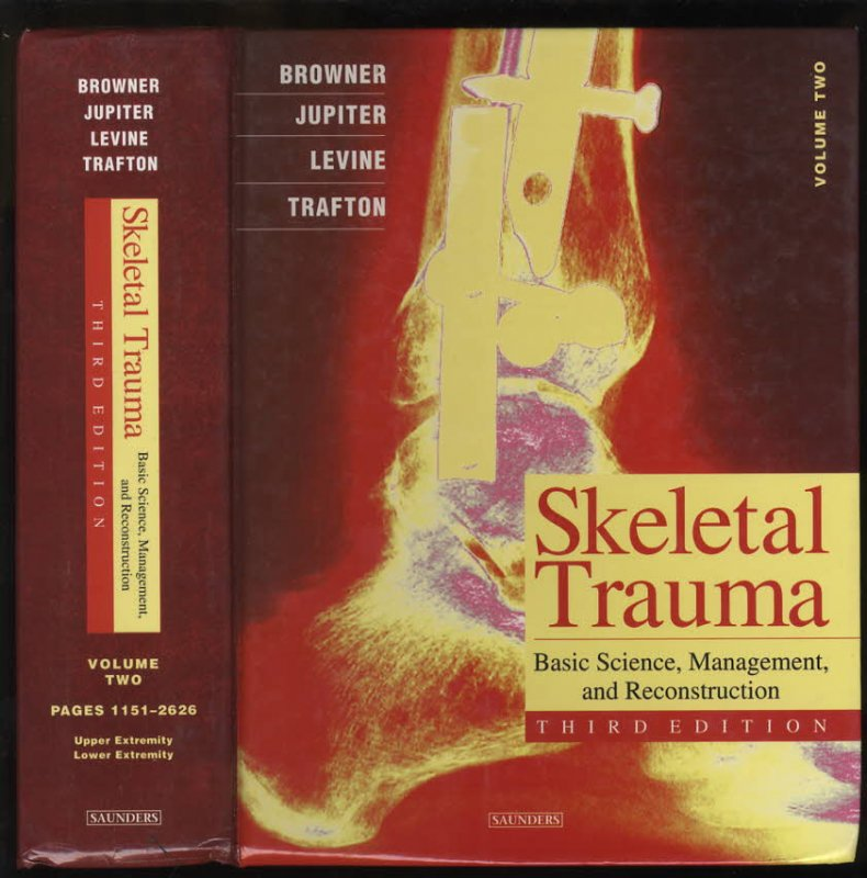 Image for SKELETAL TRAUMA IN CHILDREN, VOLUME TWO THIRD EDITION