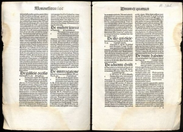 Image for [INCUNABULA] INCUNABLE LEAF FROM GERSON, OPERA 1494