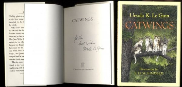 Image for CATWINGS (SIGNED)