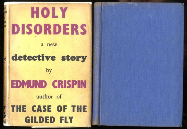 Image for HOLY DISORDERS, A NEW DETECTIVE STORY