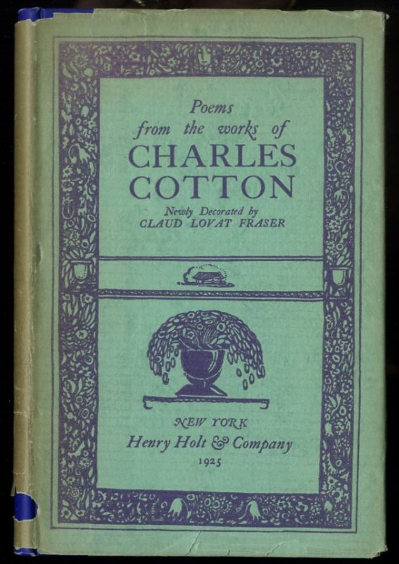 Image for POEMS FROM THE WORKS OF CHARLES COTTON