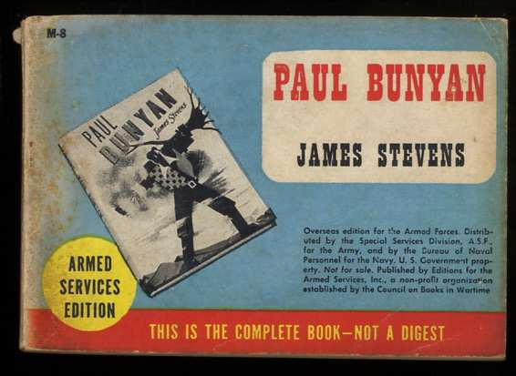 Image for PAUL BUNYAN ARMED SERVICES EDITION