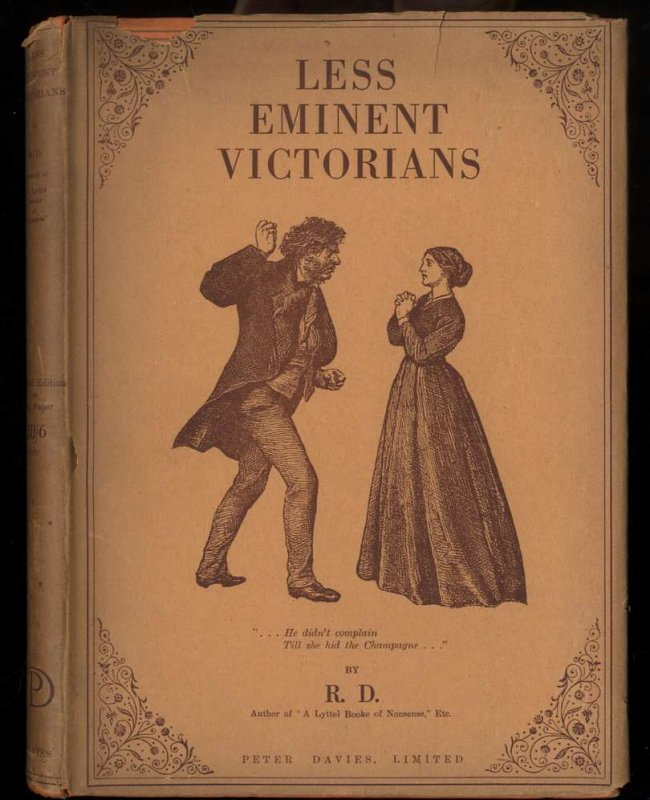 Image for LESS EMINENT VICTORIANS