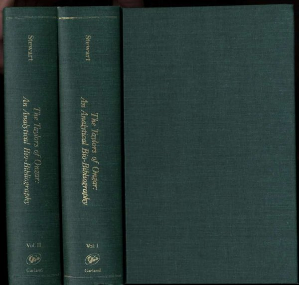 Image for THE TAYLORS OF ONGAR: AN ANALYTICAL BIO-BIBLIOGRAPHY. [CT IN 2 VOLUMES]