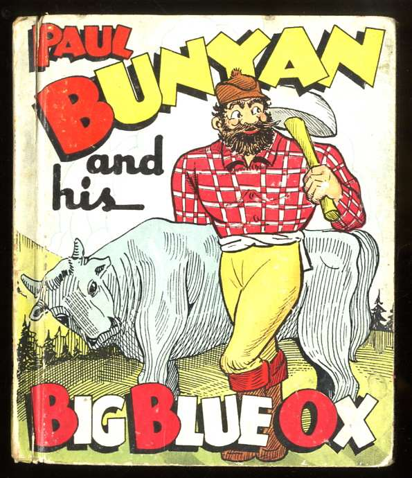 Image for PAUL BUNYAN AND HIS BIG BLUE OX