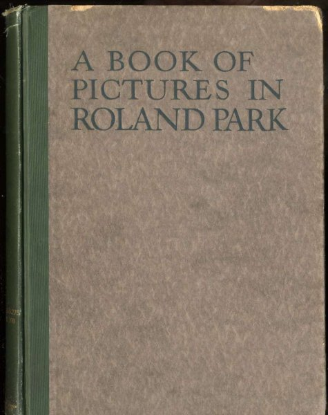Image for BOOK OF PICTURES IN ROLAND PARK; BALTIMORE, MARYLAND