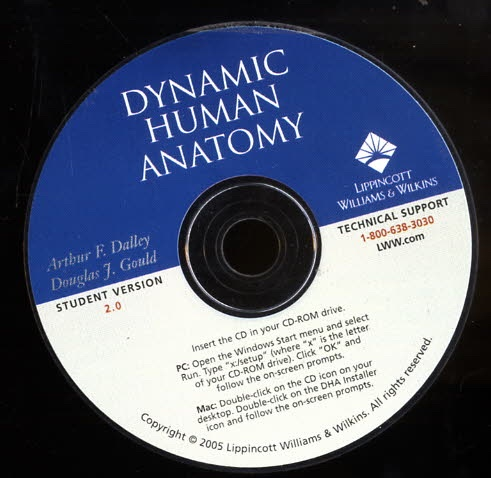 Image for Dynamic Human Anatomy  Electronic Supplement to Grant's Atlas of Anatomy