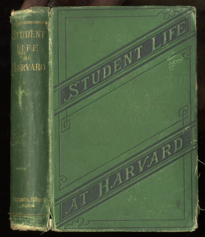 Image for STUDENT-LIFE AT HARVARD