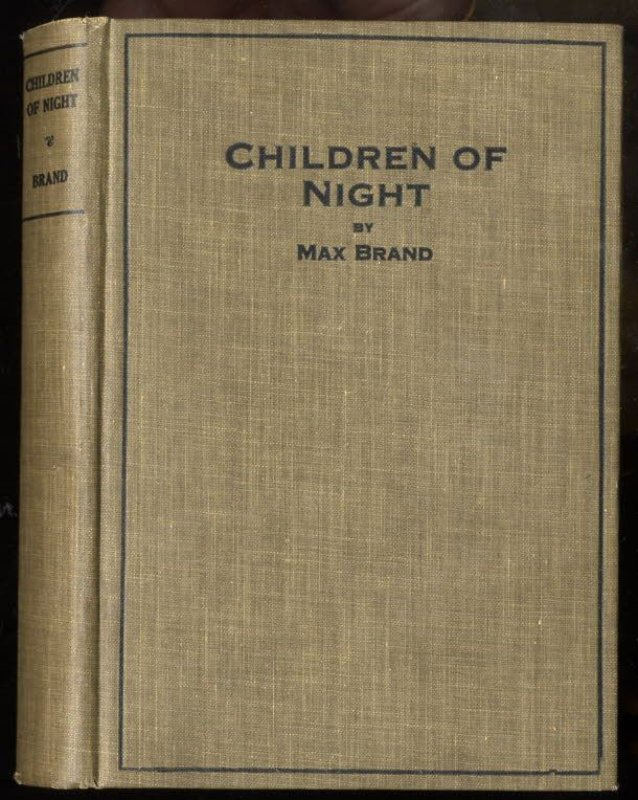 Image for CHILDREN OF THE NIGHT